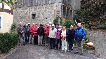 Seniorengruppe Forchheim: Wanderung zur Burg Rabeneck